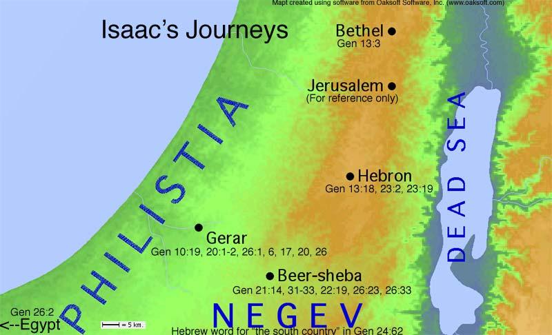 Isaac's Journeys