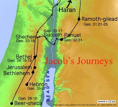 Jacob's Journeys
