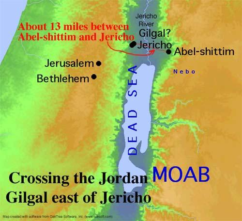 Israel Crossing the Jordan