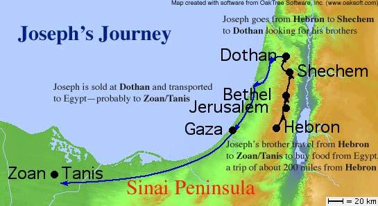 Joseph's Journeys