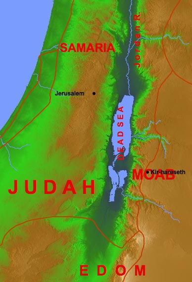 Jehoshaphat-Jehoram to Moab